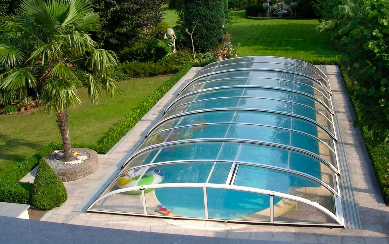 Abris de piscine design a Chamonix | Abris de piscine haut de gamme ...